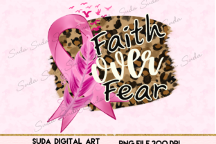 Print on Demand: Cancer Awareness Design Sublimation Graphic Illustrations By Suda Digital Art