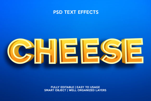 Cheese Text Effect Graphic Layer Styles By gilangkenter