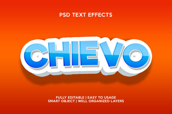 Chievo Text Effect Graphic