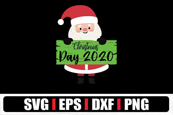 Print on Demand: Christmas Day 2020 Graphic Crafts By svg.in.design
