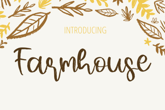 Print on Demand: Farmhouse Script & Handwritten Font By Al Ghul