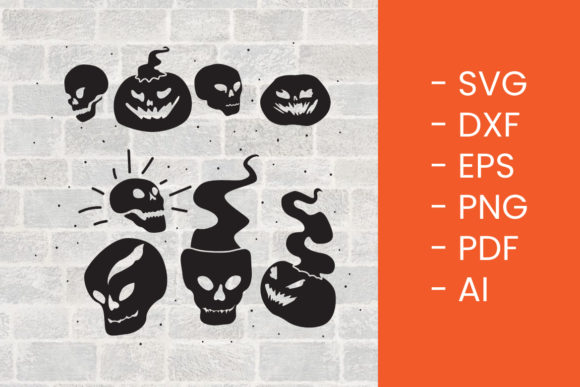 Print on Demand: Halloween SVG Cut File Graphic Crafts By Thirtypath
