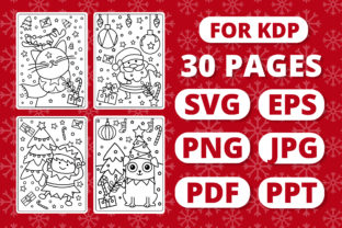 Print on Demand: KDP Christmas Coloring Book for Kids #1 Graphic Coloring Pages & Books Kids By RefreshUp 1