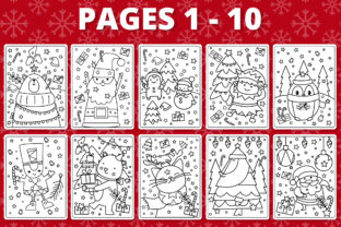 Print on Demand: KDP Christmas Coloring Book for Kids #1 Graphic Coloring Pages & Books Kids By RefreshUp 2
