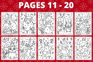 Print on Demand: KDP Christmas Coloring Book for Kids #1 Graphic Coloring Pages & Books Kids By RefreshUp 3
