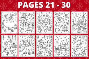 Print on Demand: KDP Christmas Coloring Book for Kids #1 Graphic Coloring Pages & Books Kids By RefreshUp 4