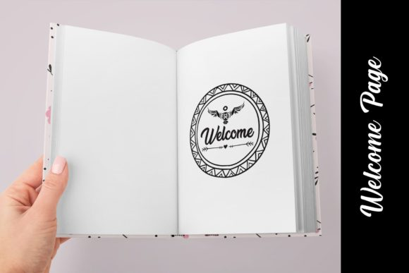 KDP Editable Daily Journal Planner Vol.2 Graphic Design