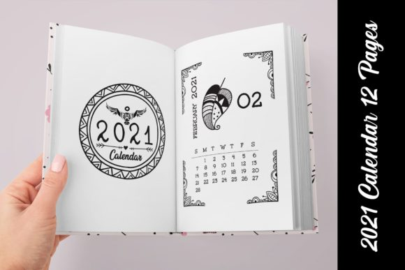 KDP Editable Daily Journal Planner Vol.2 Graphic Preview