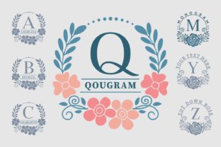 Print on Demand: Qougram Display Font By Situjuh