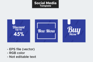 Print on Demand: Social Media Post Template Graphic Graphic Templates By Broc Simple