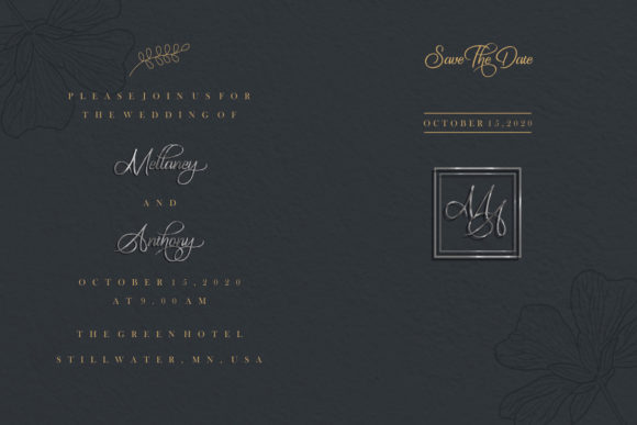 The King of Romance Font Preview