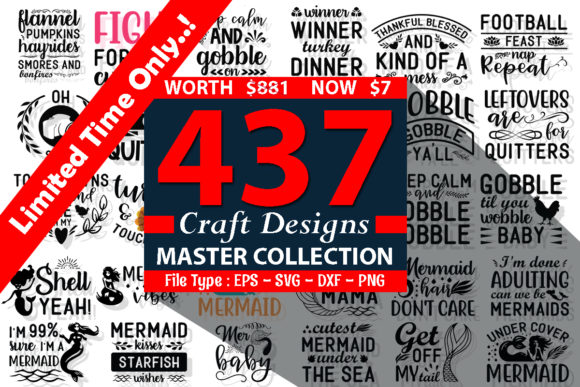 Print on Demand: The Master Collection of Craft Designs Bundle  By Design Store