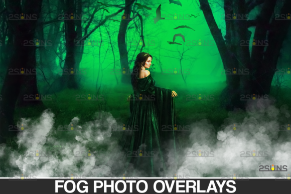 White Smoke Bomb Overlay & Fog Overlay Graphic Actions & Presets By 2SUNS