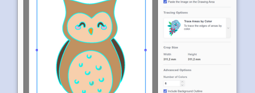 how to use image tracing in canvas workspace