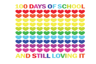 100 Days of School, Owl with Sun Graphic Graphic Templates By dariatt.perenw76