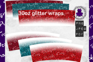 30oz Tumbler Bundle Glitter Graphic Textures By Heather Terry