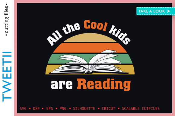 Print on Demand: All the Cool Kids Are Reading Graphic Crafts By Tweetii