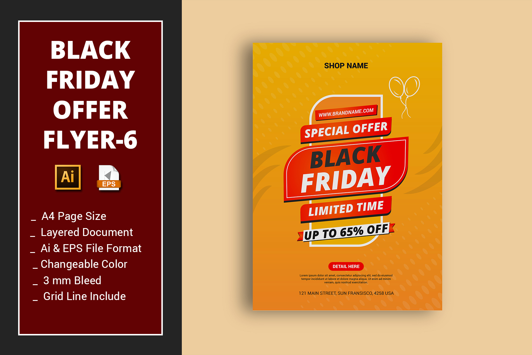 Black Friday Offer Flyer 6 Graphic By Alimran24 Creative Fabrica
