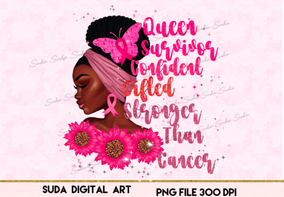 Print on Demand: Black Queen Survivor Sublimation Gráfico Illustrations Por Suda Digital Art
