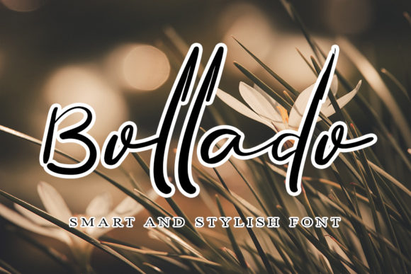Print on Demand: Bollado Script & Handwritten Font By ONE DESIGN