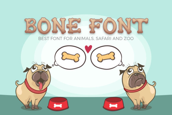 Print on Demand: Bone Display Font By OWPictures