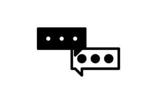 Business Discussions Glyph Icon Graphic Icons By astuti.julia93@gmail.com