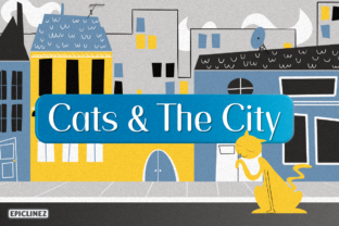 Print on Demand: Cats and the City Script & Handwritten Font By Epiclinez