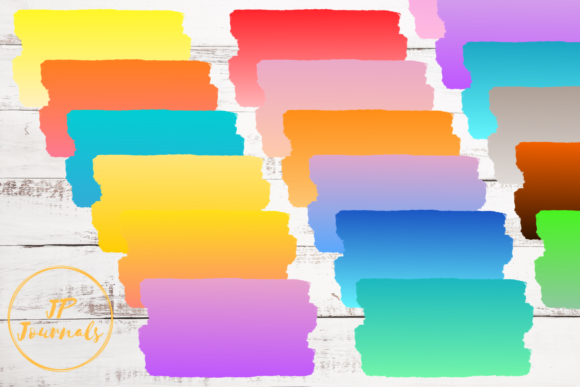 Print on Demand: Colorful Ombre Sublimation Backgrounds Graphic Backgrounds By jpjournalsandbooks