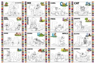 Print on Demand: Coloring Pages Collection Graphic Coloring Pages & Books By curutdesign
