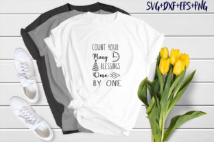 Print on Demand: Count Your Many Blessings One by One Graphic Print Templates By SVG_Huge