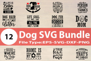 Print on Demand: Dog Design Bundle Graphic Print Templates By Design Store