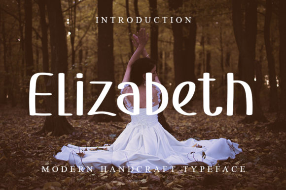 Print on Demand: Elizabeth Script & Handwritten Font By ONE DESIGN
