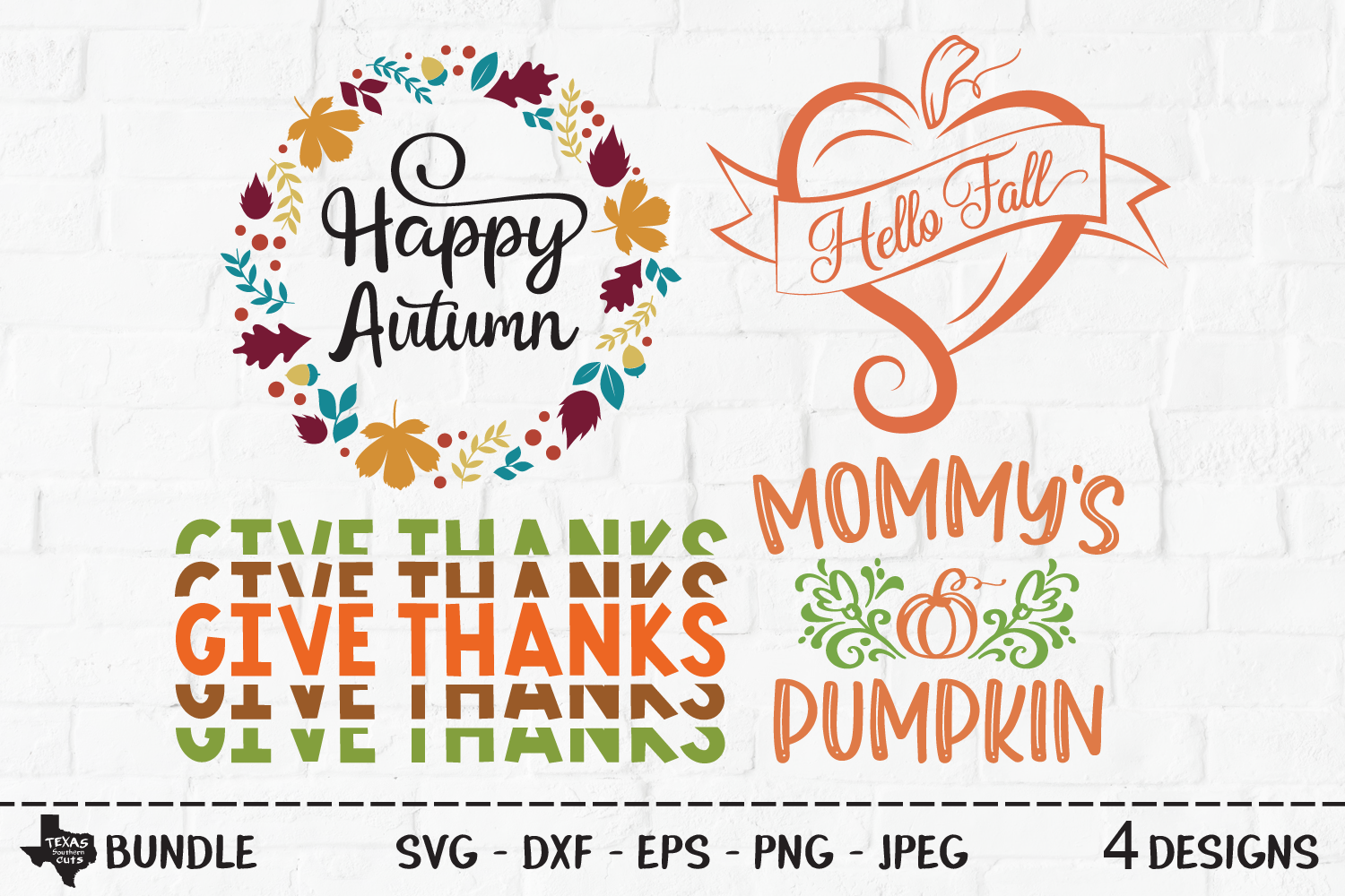 Fall Bundle Fall Designs Graphic By Texassoutherncuts Creative Fabrica