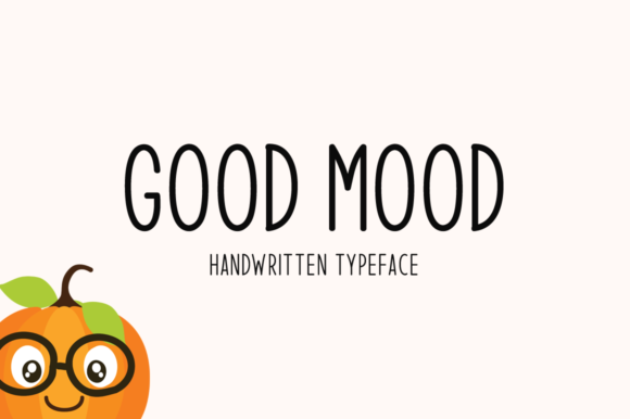 Print on Demand: Good Mood Script & Handwritten Font By Seemly Fonts