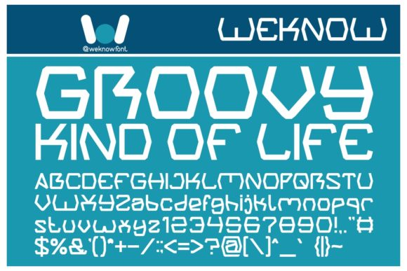 Print on Demand: Groovy Kind of Life Display Font By weknow