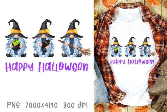 Halloween Witches Sublimation Design Graphic Crafts By GreenWolf Art