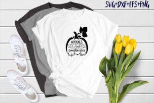 Print on Demand: Hoodies and Pumpkin Spice Graphic Print Templates By SVG_Huge