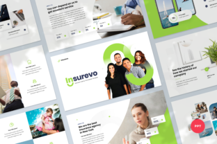 Insurance Agency PowerPoint Template Graphic Presentation Templates By Graphue