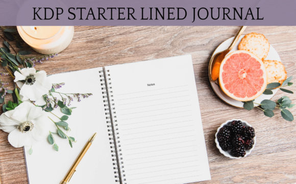 Print on Demand: KDP Starter LIned Journal W/ Source File Graphic KDP Interiors By Digital Town