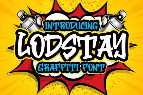 Print on Demand: Lodstay Display Font By Blankids Studio