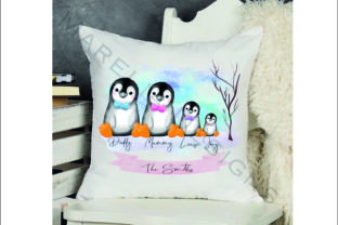 Penguin Family Clipart Graphic Illustrations By Marelia Designs 2