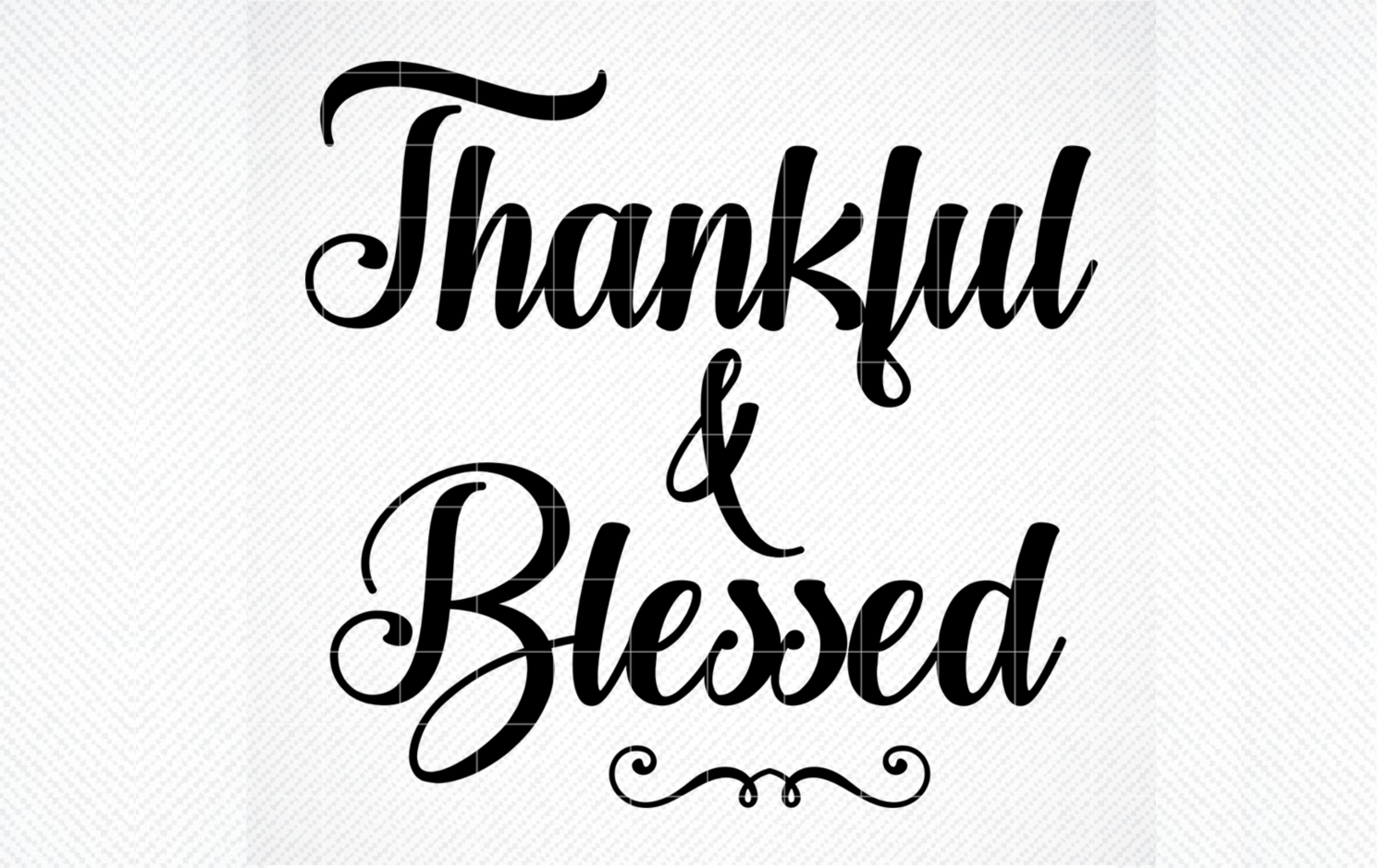 Thankful And Blessed Svg Thanksgiving Graphic By Svg Den Creative Fabrica