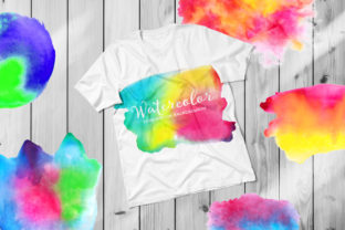 Print on Demand: Watercolor Sumblimation Backgounds Graphic Backgrounds By DTCreativeLab