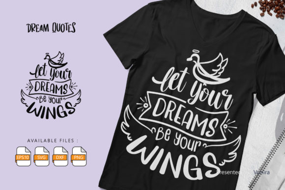 10 Dream Bundle - Lettering Quotes Graphic Downloadable Digital File