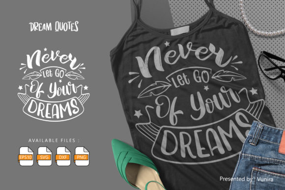 10 Dream Bundle - Lettering Quotes Graphic Popular Design