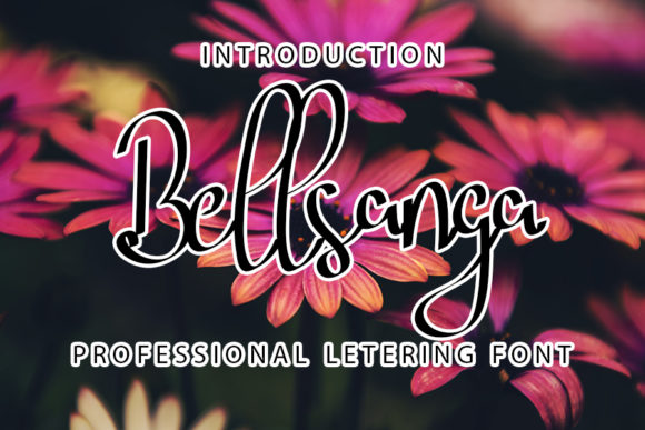 Print on Demand: Bellsanga Script & Handwritten Font By ONE DESIGN