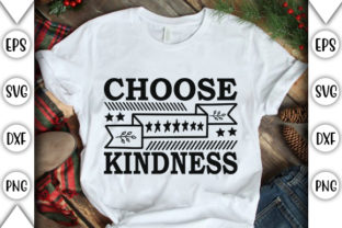 Print on Demand: Choose Kindness Clipart Design 3 Graphic Crafts By store_svg
