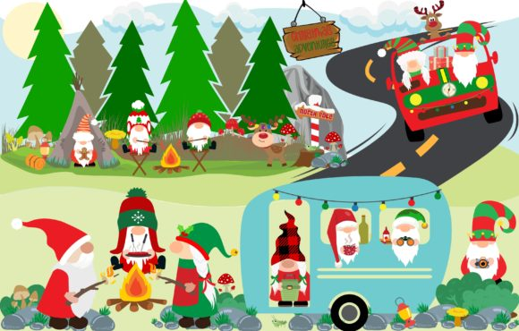Christmas Adventure Graphic Crafts By CREATIVE M.D