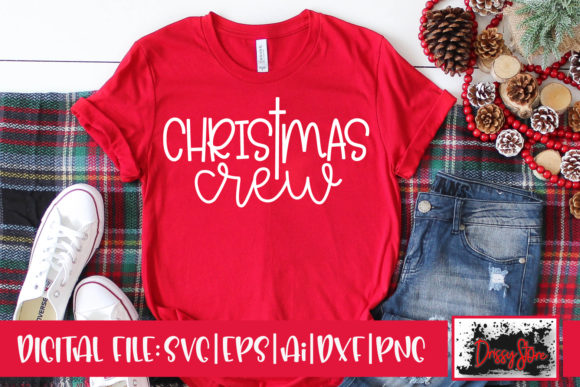 Christmas Crew Graphic Crafts By DrissyStore