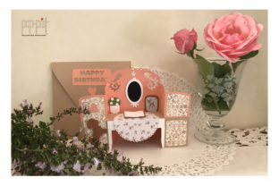 Dressing Table Graphic 3D SVG By patrizia.moscone